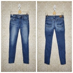 American Eagle Super Stretch Skinny Jeans 6 LONG